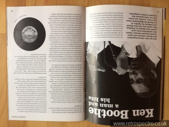 Big Shot fanzine Ken Boothe article