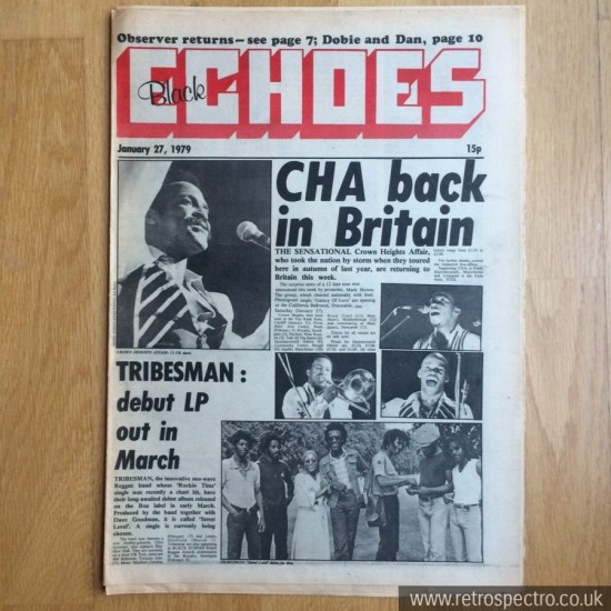 Black Echoes 27 January 1979