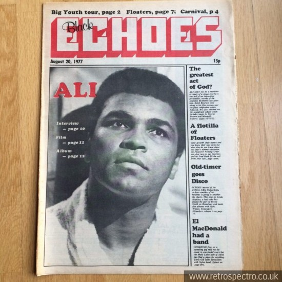 Black Echoes 20 August 1977
