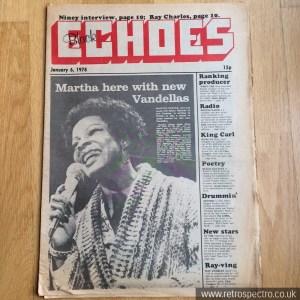 Black Echoes 6 January 1978