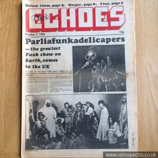 Black Echoes 7 October 1978