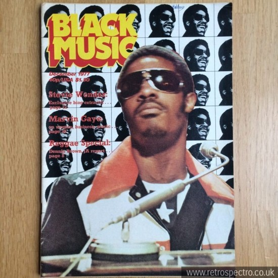 Black Music December 1977