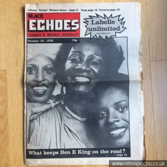 Black Echoes 23 October 1976
