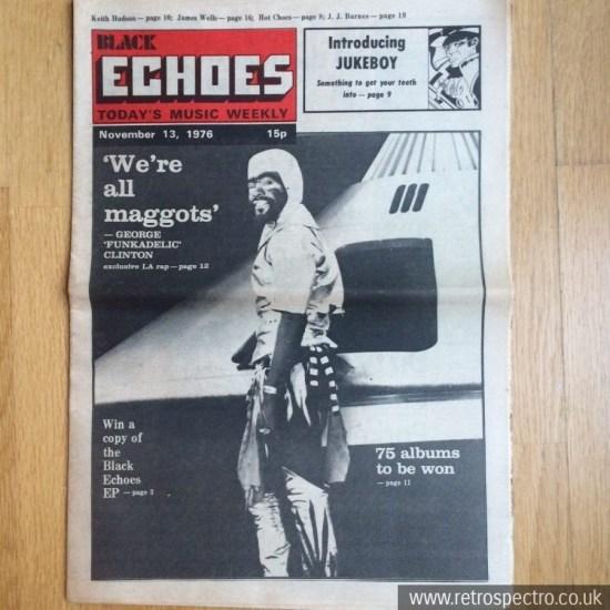 Black Echoes 13 November 1976