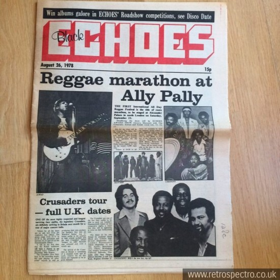 Black Echoes August 1978