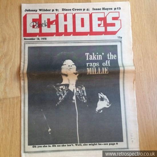 Black Echoes 18 November 1978