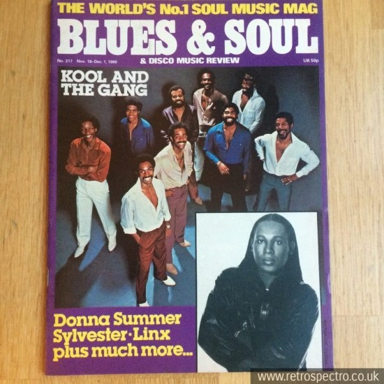 Blues & Soul - 317 - Kool And the Gang Sylvester