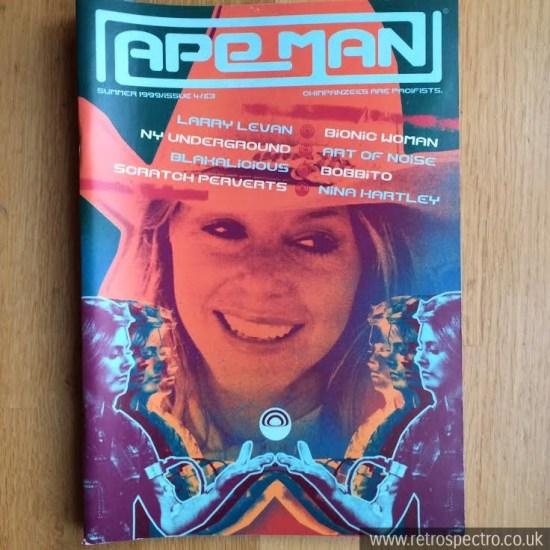 Ape Man magazine No 4