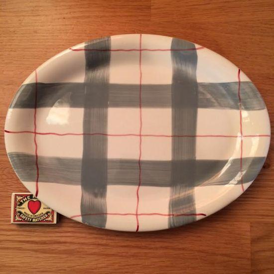 J&G Meakin Habitant serving plate