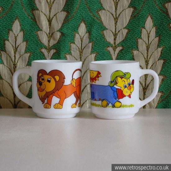 Vintage Cartoon Mugs