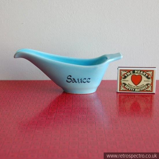 Crown Devon Sauce Boat