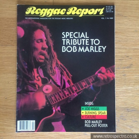 Reggae Report magazine 1989