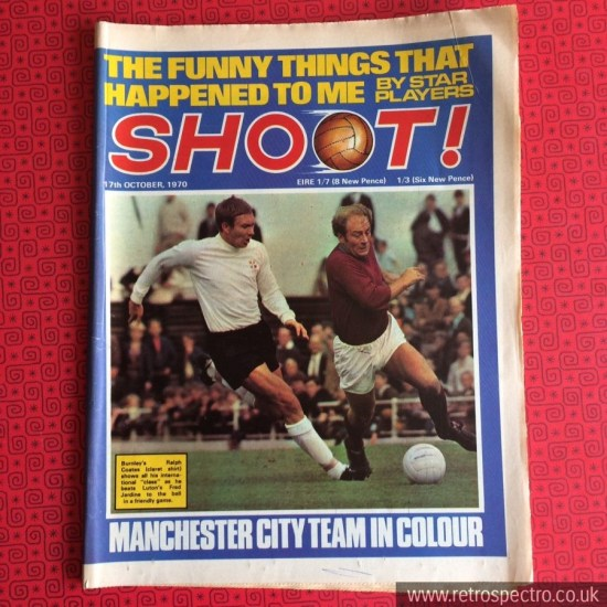 Shiit Football Magazine 1970