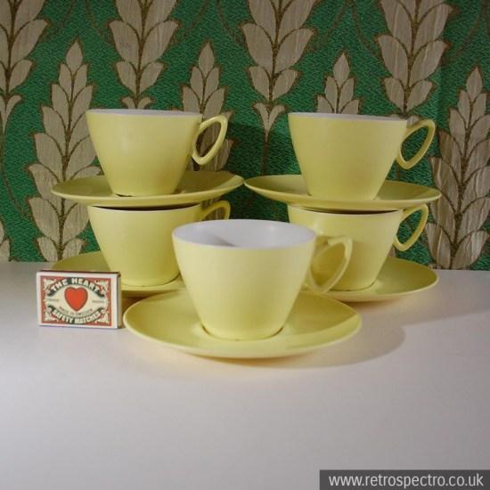 Melamine Cups & Saucers