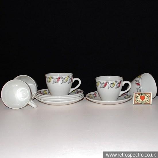 Broadhurst Cups & Saucers