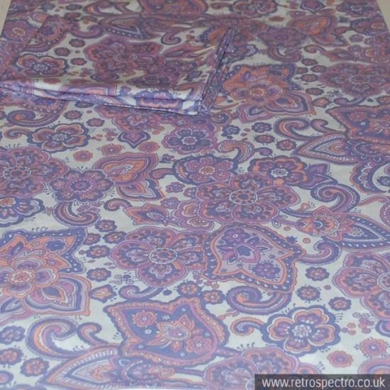 Vintage flowery bedding