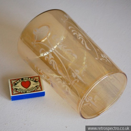 Vintage glass lampshade