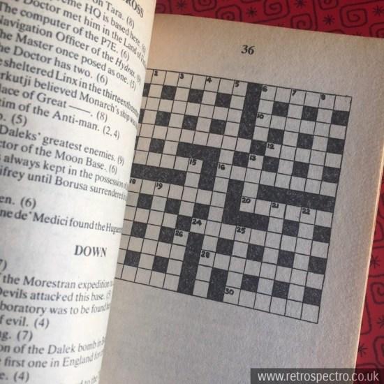 Doctor Who - Crossword Book