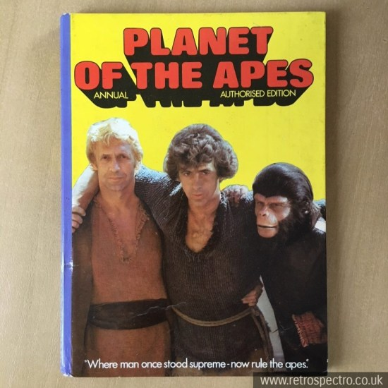 Planet Of The Apes Annual 1976