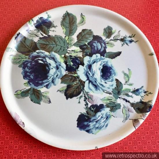 Thetford Round Tray Floral Design