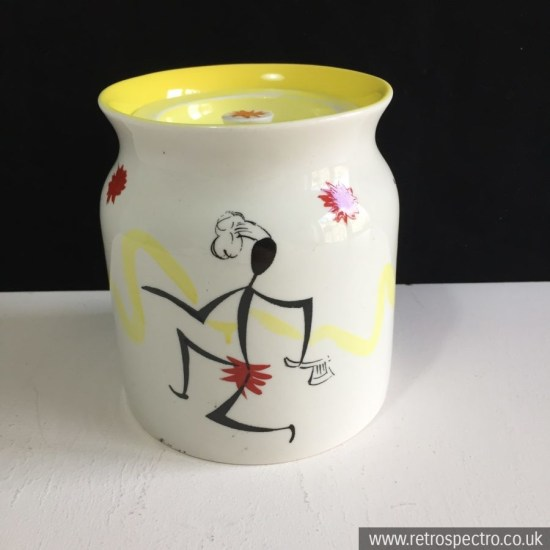 Kirkham Chef & Stripe Storage Jar