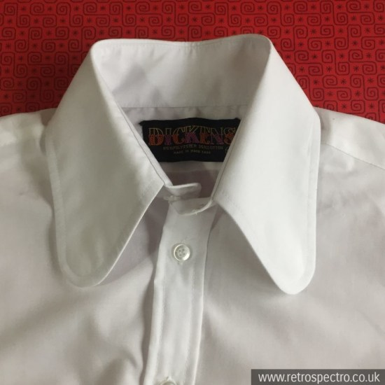 Dickens beagle collar shirt