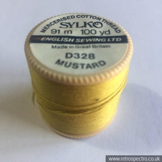 Dewhurst's Sylko D328 Mustard Yellow