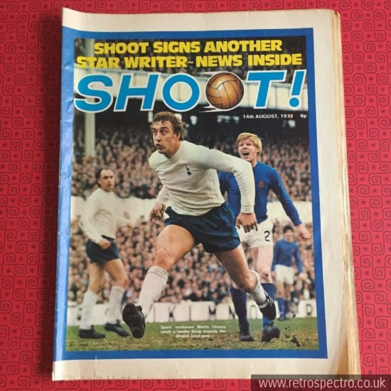 Shoot Football Magaine 1971