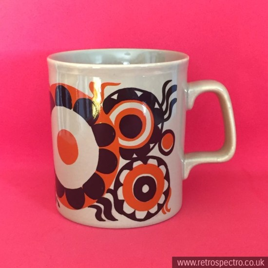 Staffordshire Potteries 70's mug