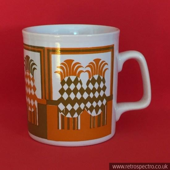 Staffordshire Potteries Pineapple Mug