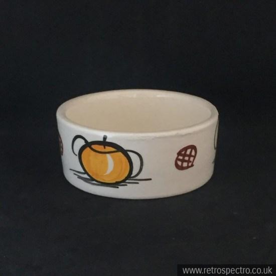 1950's hand painted ceramic pot