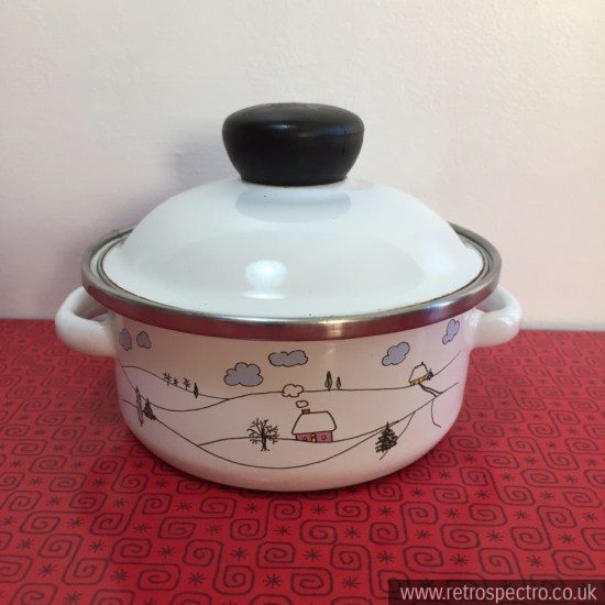 West German Prinz Enamel Pan