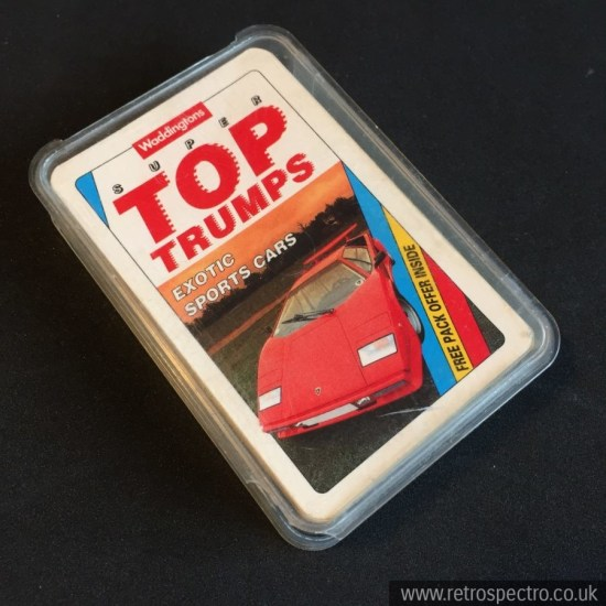 Super Top Trumps Exotic Sports Cars