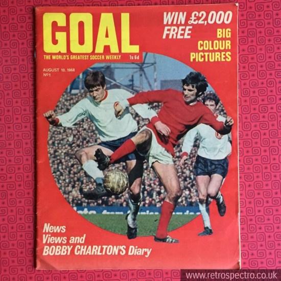 Goal magazine No1 August 1968