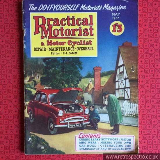 Practical Motorist & Motor Cyclist Magazine May 1957