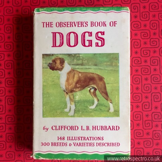 Observer's Book Of Dogs 1964