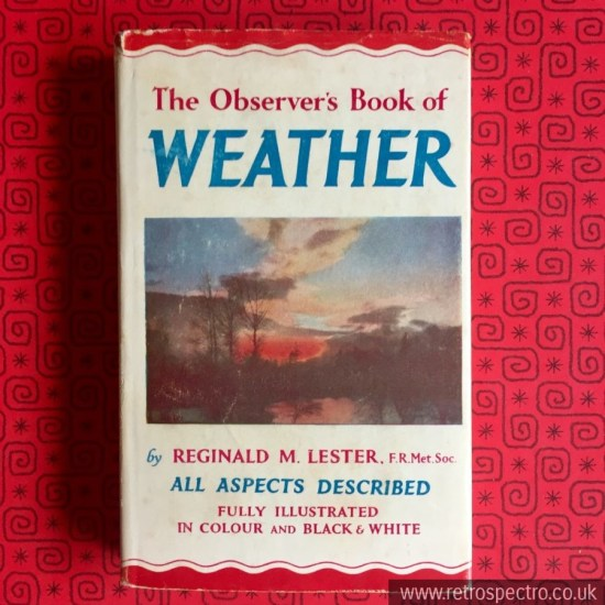 Observer's Book Of Weather 1962