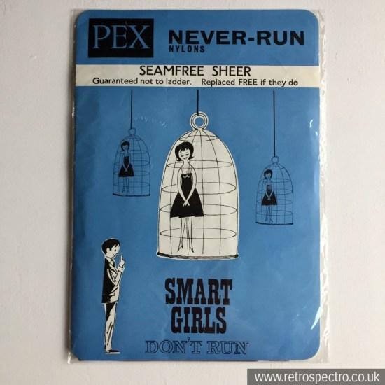 Pex Never Run Nylons - Smart Girls Don't Run