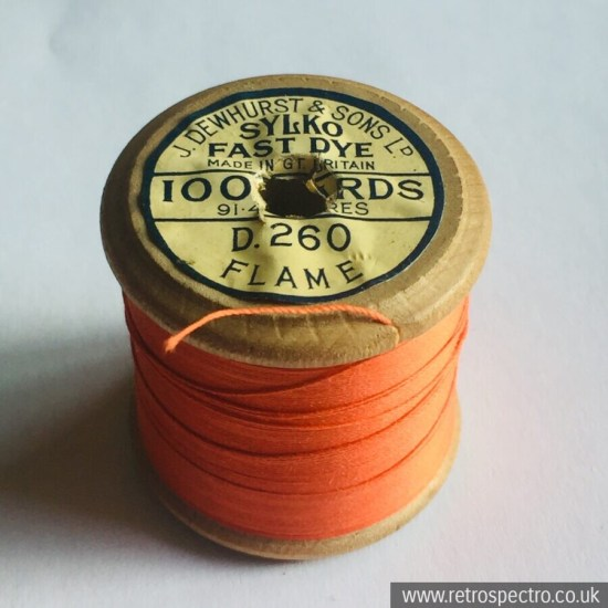 Sylko Cotton Reel Flame D.260