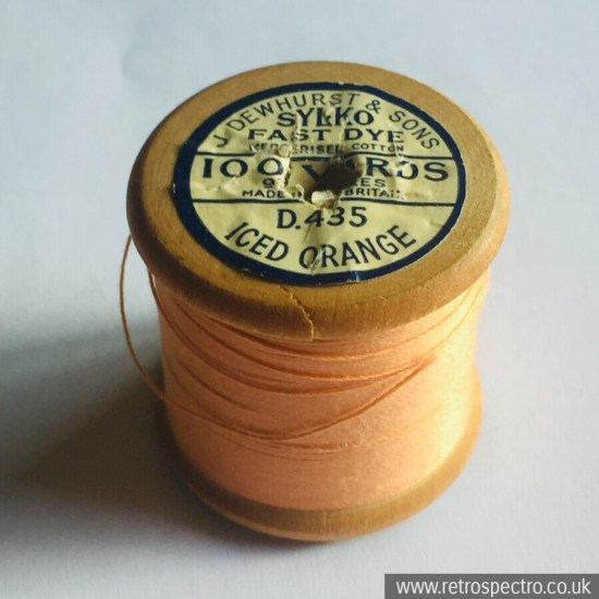 Sylko Cotton Reel D.435 Iced Orange