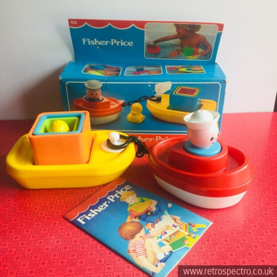 Fisher Price boat bath set No 120