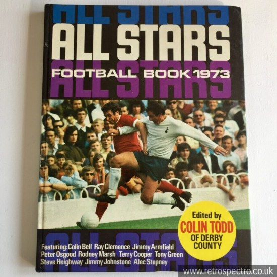 All Star Football Book 1973 No 12 Vintage Annual