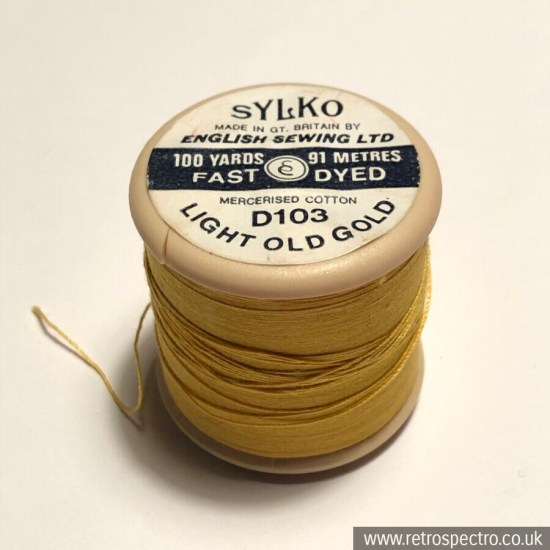 Sylko D103 Light Old Gold