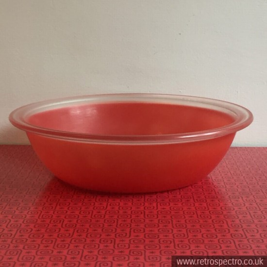 Phoenix red spray wear bowl