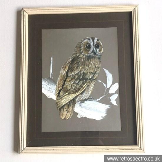Owl foil picture