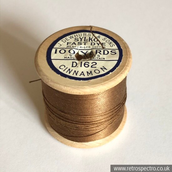 Sylko Cotton Reel D162 Cinnamon