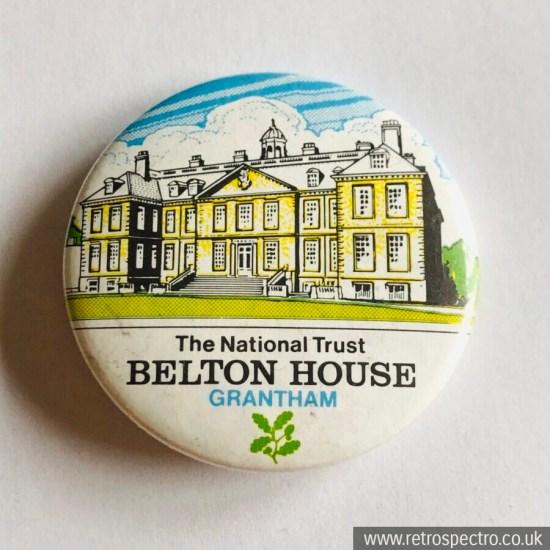 Vintage Belton House Badge