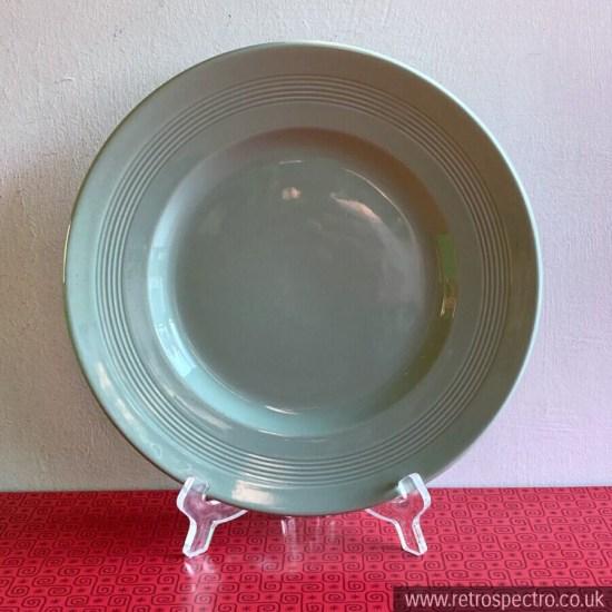 "Woods Ware Beryl 9"" Sandwich Plate"