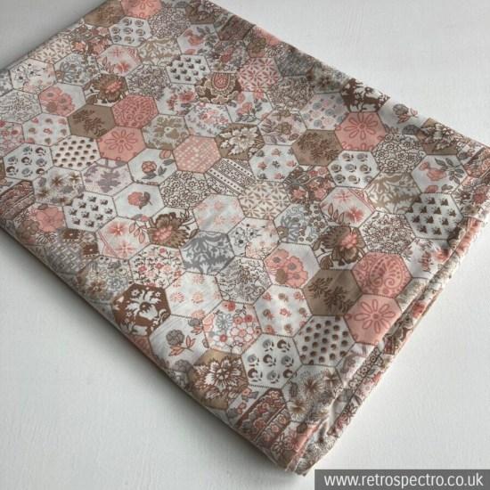 St Michael Vintage Single Duvet Cover - Patchwork Pattern