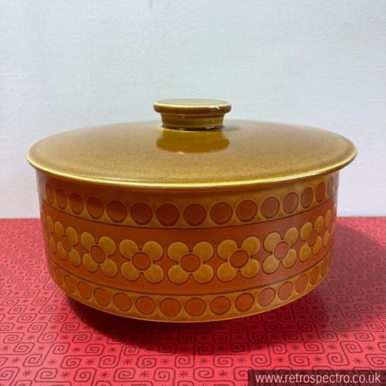 Hornsea Saffron Pattern Lidded Tureen 70s